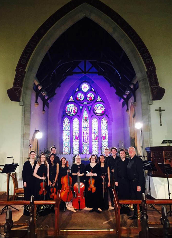 Camerata Academica of the Antipodes orchestra and vocal ensemble Mudgee 2015